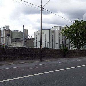 Athy Ireland Industrial Area grainery