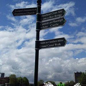 Athy Ireland Street Signs